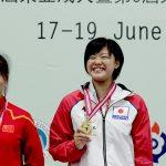今年度3冠がかかる淵田涼凪選手(山梨県)