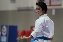 女子個人形日本代表の清水希容選手