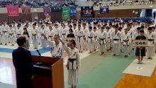 選手宣誓は地元・大分の選手により行われた