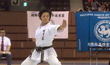 一般女子型6連覇の水藤楓選手