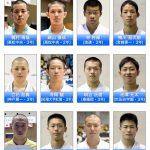 平成28年度全日本高校代表選手(男子)サムネイル用
