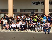 昨年の和歌山国体での近大ファミリー
