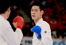 男子エクセレントで優勝の西村拳(近畿大学)