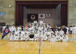 男子団体組手初優勝の長崎国際大学