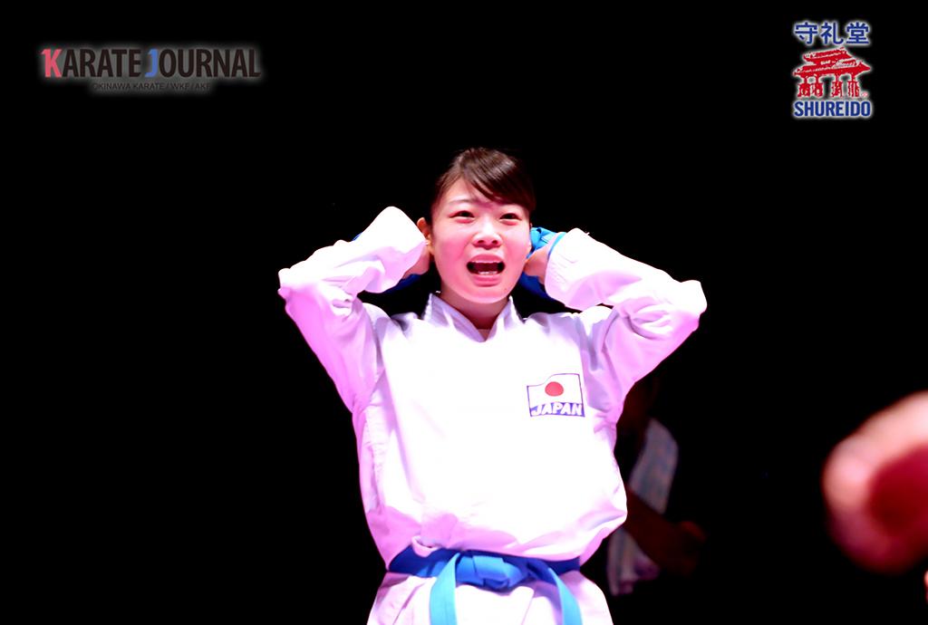 女子-61kg級優勝の岩戸美紗