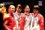 女子-61kg表彰式