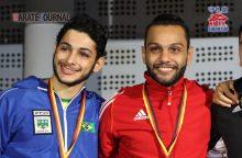 2012世界チャンピオンのハナフィ(右)と2016プレミアリーグ・グランドチャンピオンのビニシウス