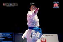 連覇のかかる日本代表清水希容選手
