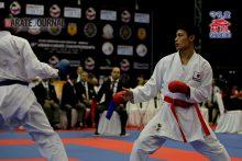 国際大会デビュー戦で銀メダルを獲得した泓誠司朗