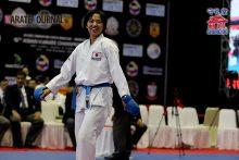 強い組手を見せ優勝した菊池瑞希