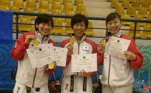 世界でもトップチームといえる女子団体メンバー