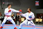 西村拳選手(左)