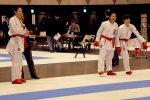 女子団体組手準優勝の京都