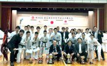 第55西日本大学優勝の近畿大学